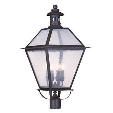 Livex Lighting Waldwick Outdoor 4 Light Post Head Light