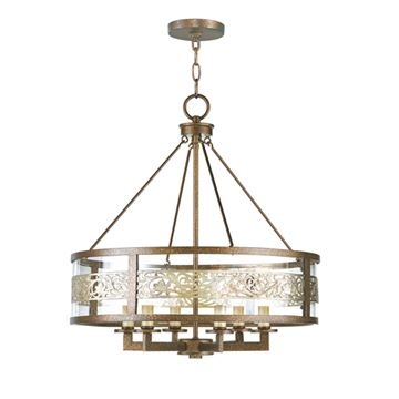 Livex Lighting Waverly 6 Light Chandelier