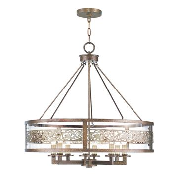 Livex Lighting Waverly 8 Light Chandelier