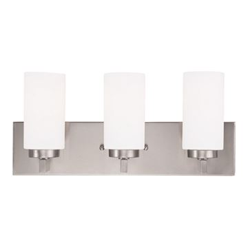 Livex Lighting West Lake 3 Light Vanity Light