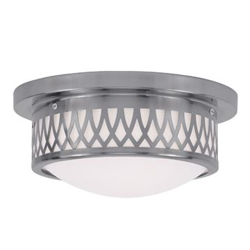 Livex Lighting Westfield 11 Inch Flush Ceiling Light