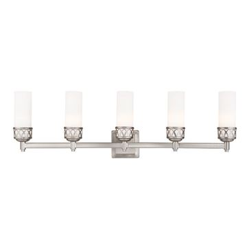Livex Lighting Westfield 5 Light Vanity Light
