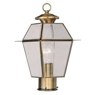 Livex Lighting Westover Outdoor 14 Inch Post Head Light