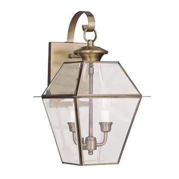 Livex Lighting Westover Outdoor 2 Light Wall Lantern