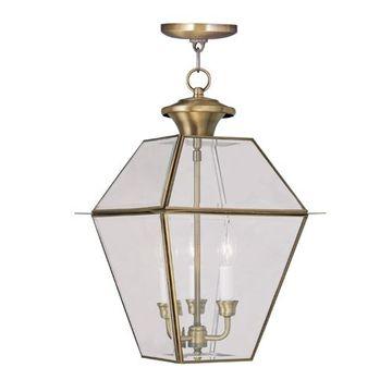 Livex Lighting Westover Outdoor 3 Light Chain Hang Light