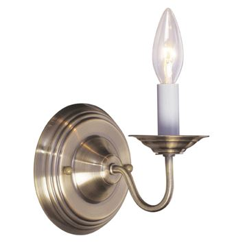 Livex Lighting Williamsburgh Single Light Wall Sconce