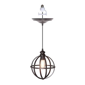 Worth Home Instant Pendant Light with 8 Inch Cage Shade