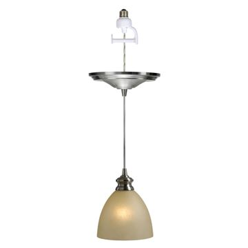 Worth Home Instant Pendant Light With Parchment Shade