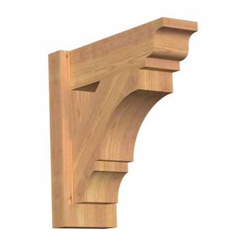 Restorers Rustic Balboa Traditional Outlooker Bracket