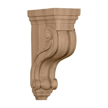 Restorers Architectural 10 1/2 Inch Boston Traditional Scroll Corbel
