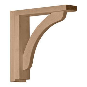 Restorers Architectural 10 1/4 Inch Reece Shelf Bracket
