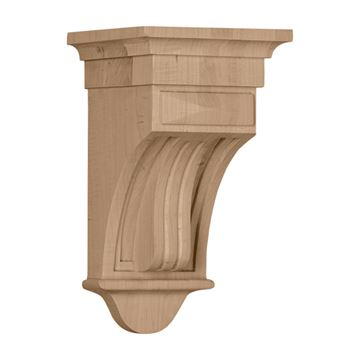 Restorers Architectural 10 Inch Raised Fluted Corbel