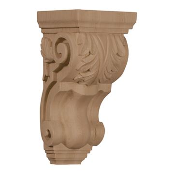 Restorers Architectural 10 Inch Traditional Acanthus Corbel