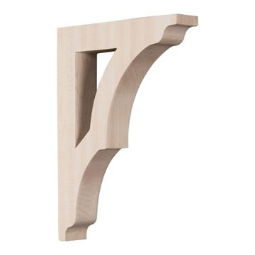 Restorers Architectural 12 Inch Avila Shelf Bracket