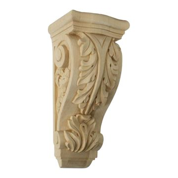 Restorers Architectural 12 Inch Farmingdale Acanthus Corbel