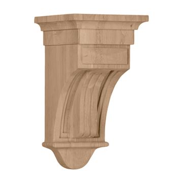 Restorers Architectural 12 Inch Raised Fluted Corbel