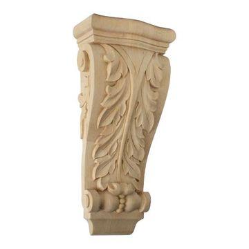 Restorers Architectural 13 1/2 Inch Farmingdale Acanthus Pilaster Corbel