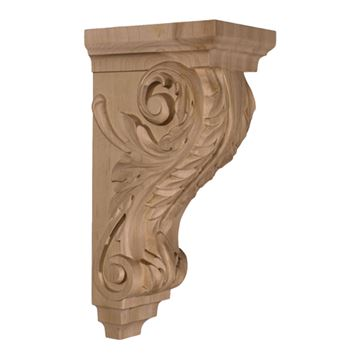 Restorers Architectural 14 Inch Acanthus Corbel