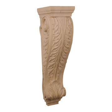 Restorers Architectural 34 Inch Acanthus Corbel