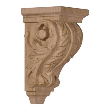 Restorers Architectural 4 1/4 Inch Acanthus Corbel