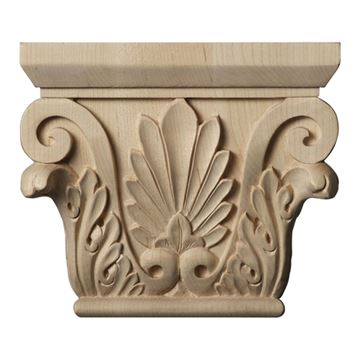 Restorers Architectural 5 1/2 Inch Chesterfield Capital