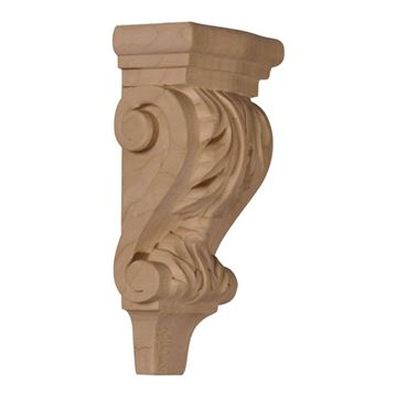 Restorers Architectural 6 Inch Acanthus Pilaster Corbel