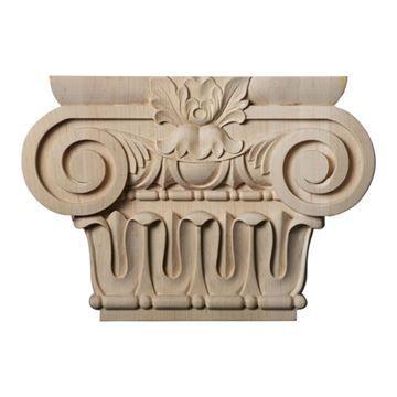 Restorers Architectural 7 1/2 Inch Bradford Roman Ionic Capital