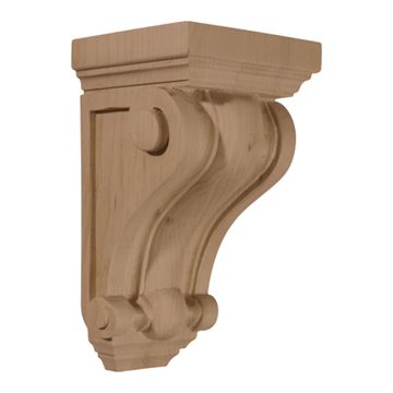 Restorers Architectural 7 1/2 Inch Devon Traditional Corbel