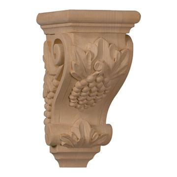 Restorers Architectural 7 Inch Grape Corbel