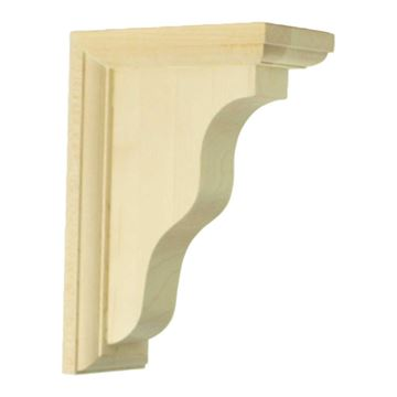 Restorers Architectural 7 Inch Medium Hamilton Shelf Bracket