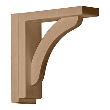 Restorers Architectural 8 1/4 Inch Reece Shelf Bracket