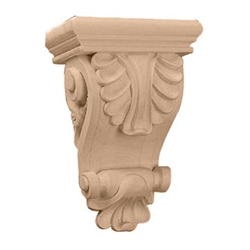 Restorers Architectural 8 1/4 Inch Thin Acanthus Corbel