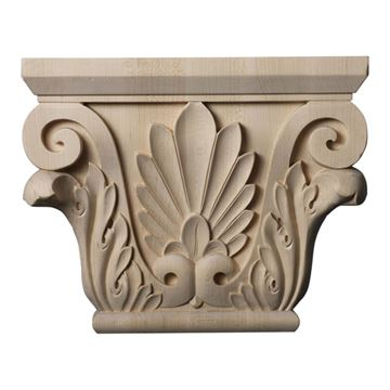 Restorers Architectural 8 7/8 Inch Chesterfield Capital