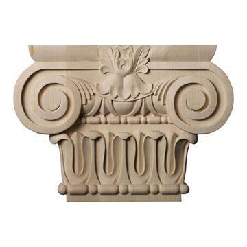 Restorers Architectural 9 1/8 Inch Bradford Roman Ionic Capital