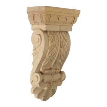 Restorers Architectural Thin Flowing Acanthus Corbel