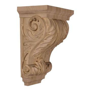 Restorers Architectural Wide Acanthus Corbel