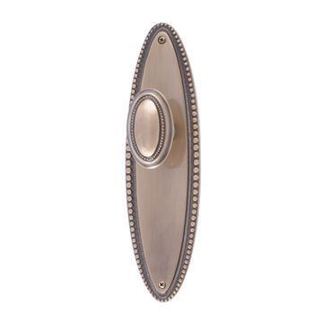 Brass Accents Revere Double Dummy Door Set with Revere Knob