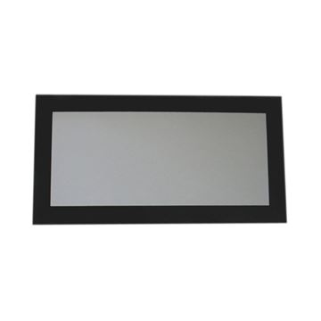Whitehaus Aeri Rectangle Mirror With Glass Frame