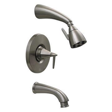 Whitehaus Blairhaus Monroe Pressure Balance Valve Tub & Shower Faucet Set
