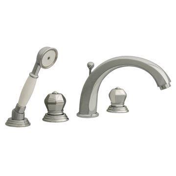 Whitehaus Blairhaus Washington Deck Mount Bath Tub Faucet With Hand Shower