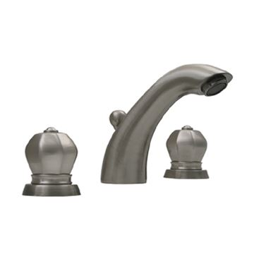 Whitehaus Blairhaus Washington Widespread Lavatory Faucet With Crown Handles