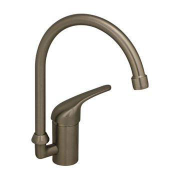 Whitehaus Flamingo Iii Single Hole Gooseneck Kitchen Prep Faucet