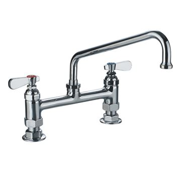 Whitehaus Heavy Duty Utility Bridge Faucet