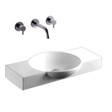 Whitehaus Isabella Round Bowl Vessel Sink