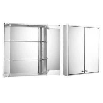 Whitehaus Medicinehaus Double Door Medicine Cabinet