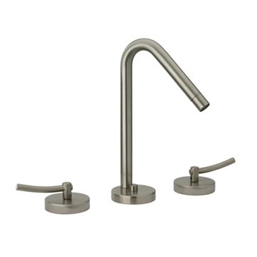 Whitehaus Metrohaus Widespread Lavatory Faucet With 45 Degree Spout - Lever