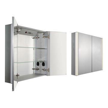 Whitehaus Musichaus 31 Inch Double Musical Medicine Cabinet