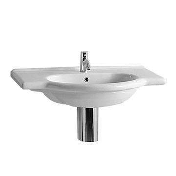 Whitehaus Nizza Large Vanity Basin With Overflow