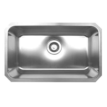 Whitehaus Noah 30 1/4 Inch Stainless Undermount Kitchen Sink