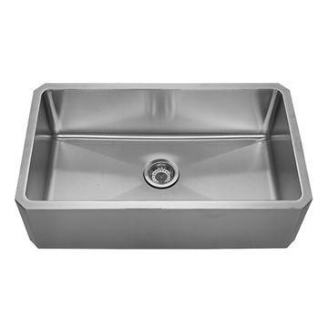 Whitehaus Noah 31 5/8 Inch Stainless Steel Apron Undermount Kitchen Sink